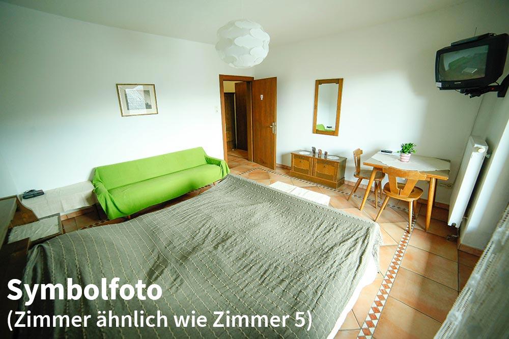 Zimmer 3 im Gästehaus Huss - Symbolfoto - Zimmer 3 ist Zimmer 5 sehr ähnlich